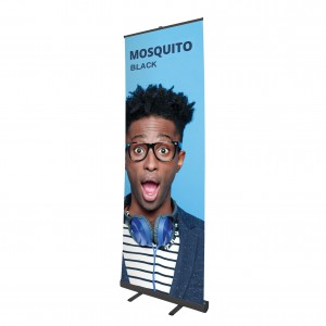 Roll Up banner - Mosquito BLACK